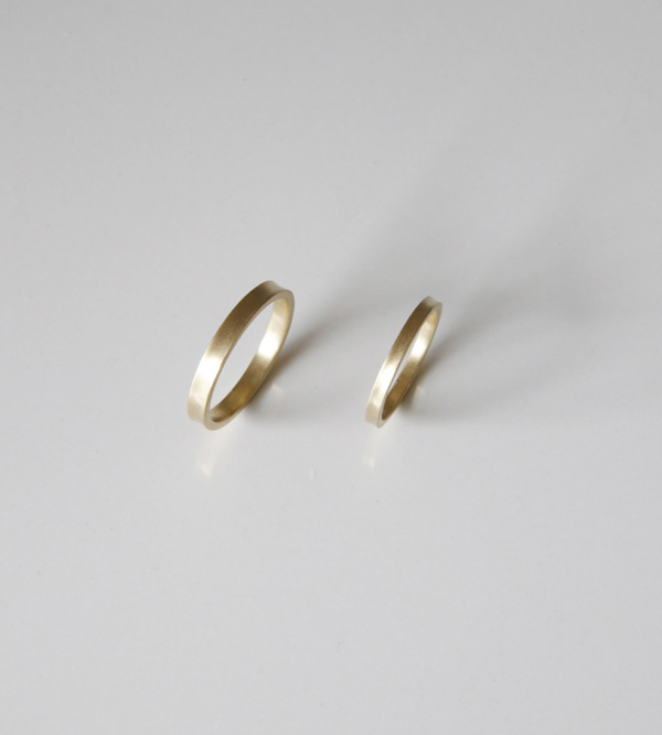 Arke Grace Gold Couple Ring