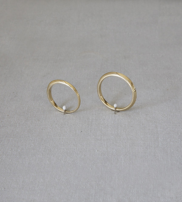 Hedal-San Gold Couple Ring
